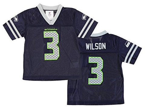 official photos b2387 fc7df Russell Wilson Seattle Seahawks #3 White Dazzle Girls Youth ...