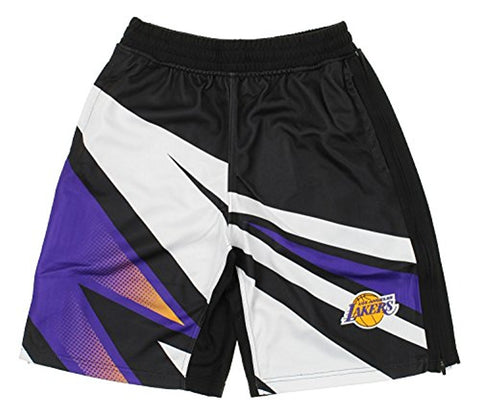 Zipway NBA Men's Los Angeles Lakers MotorCross Athletic Shorts