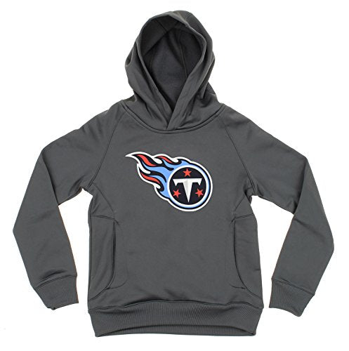 OuterStuff NFL Youth Boys Tennessee Titans Logo Pullover Sweatshirt Hoodie