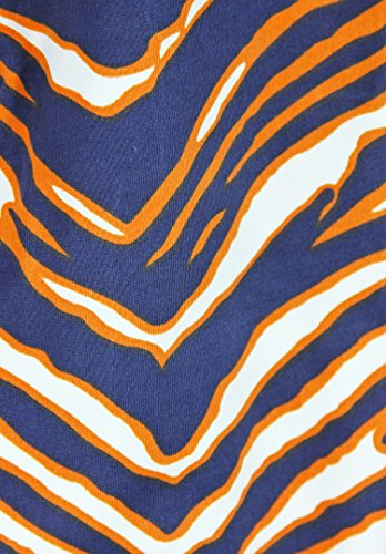 Zubaz MLB Women's Detroit Tigers Team Color Tiger Print Leggings Pants