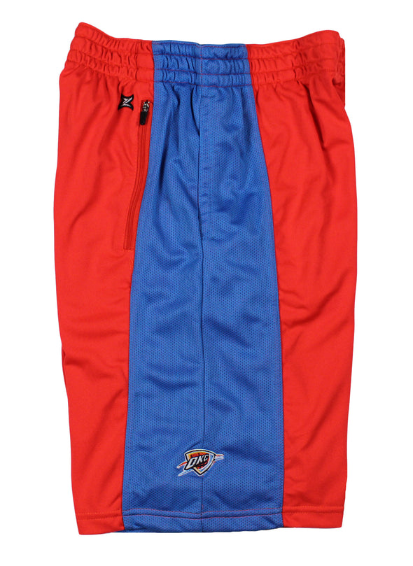 Zipway NBA TALL Men's Oklahoma City Thunder Shorts, Red