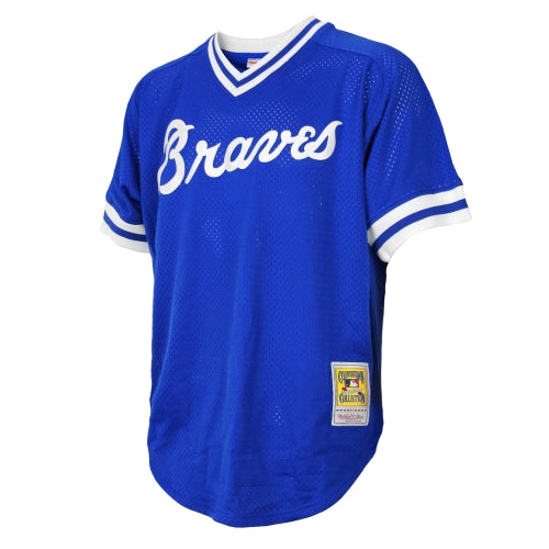 new arrivals 36d2e bfd4b Atlanta Braves MLB Men's Dale Murphy # 3 Authentic Throwback Jersey - Blue