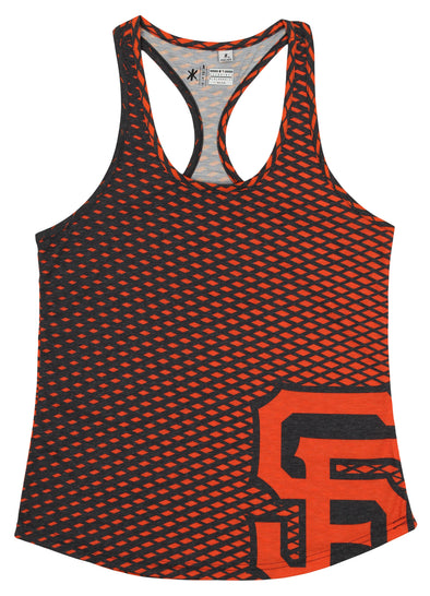 Forever Collectibles MLB Women's San Francisco Giants Diamond Racerback Tank