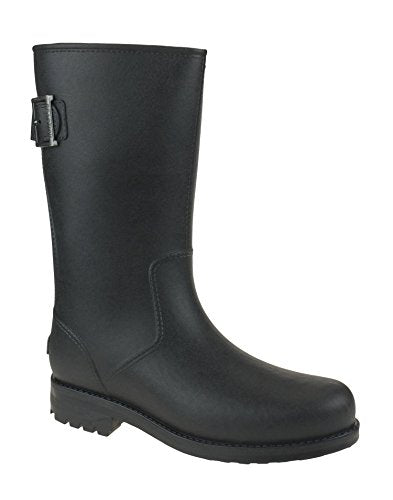 Kenneth Cole Reaction Men's Rainy Dayz Rubber Rain Boots - Black