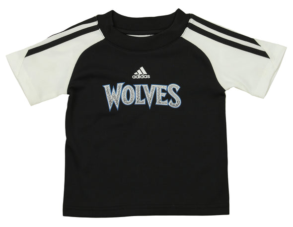 Adidas NBA Infant Minnesota Timberwolves Slam Dunk Short Set , Black