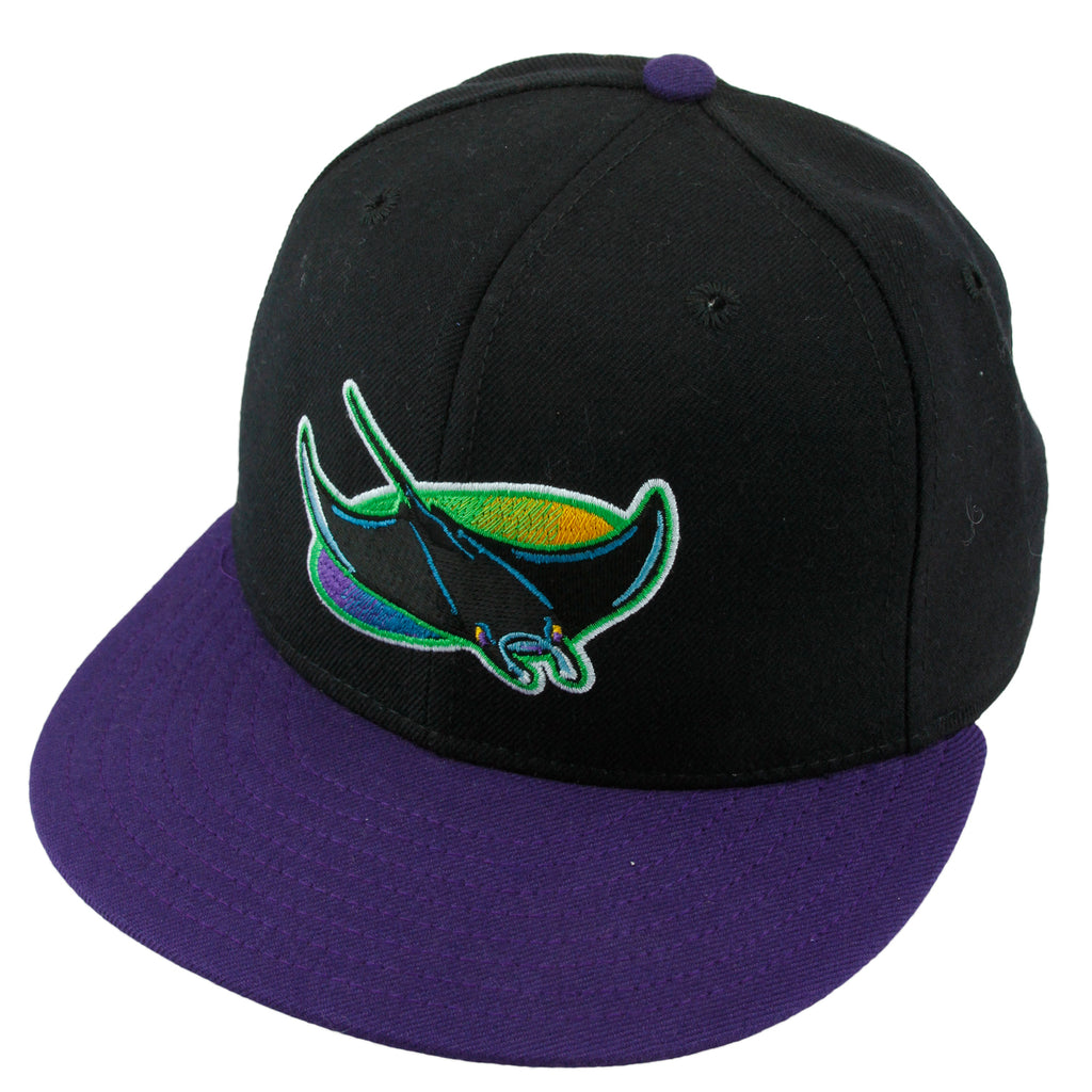 4654ad915b39f New Era 59FIFTY MLB Tampa Bay Devil Rays Diamond Collection Fitted ...