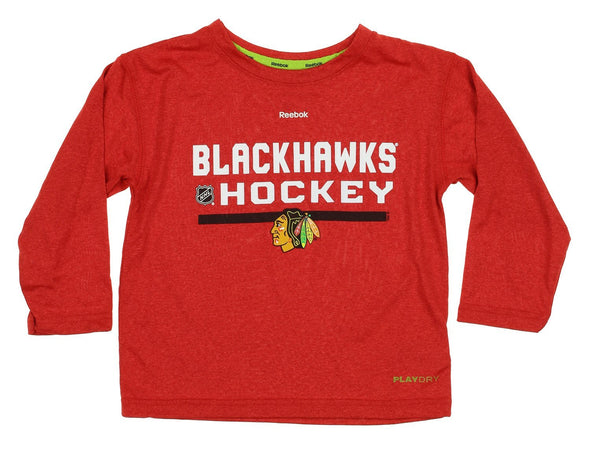 Reebok NHL Kids Chicago Blackhawks Speedwick Performance Tee