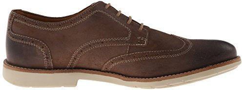 7d080ea7ed8f3a Clarks Men s Raspin Brogue Suede Oxford Shoes - Taupe Suede – Fanletic