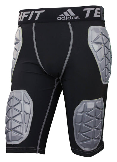 Adidas Men's Techfit Ironskin 5 Pad Football Girdle, Color Options