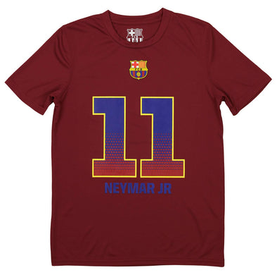 FCB Youth FC Barcelona Neymar Da Silva Santos #11 Performance Player Tee