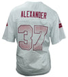 Reebok NFL Women's Seattle Seahawks Shaun Alexander #37 Fashion Jersey - White