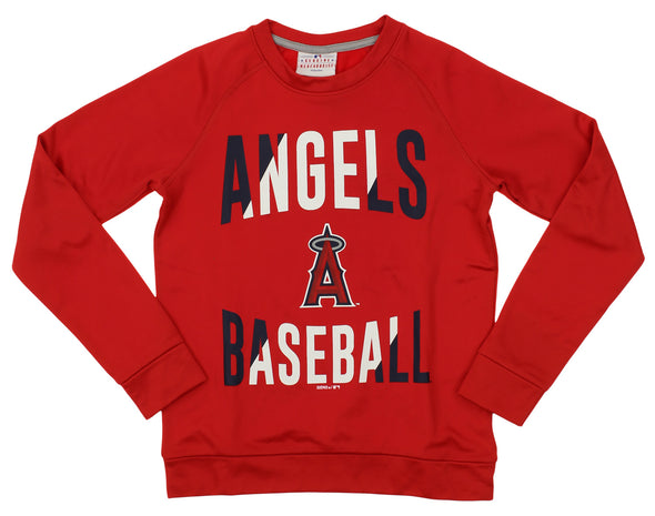 Outerstuff MLB Youth/Kids Los Angeles Angels Performance Fleece Sweatshirt