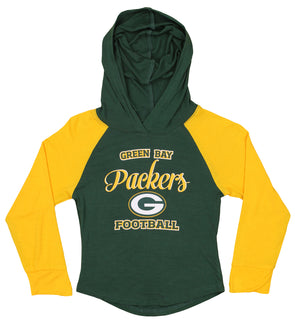 Outerstuff NFL Youth Green Bay Packers Foundation Retro Hoodie