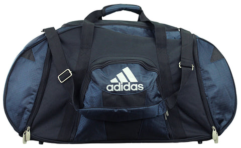 Adidas Large Travel Duffel Bag, Dark Navy