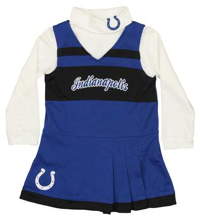 Outerstuff NFL Infant Girls Indianapolis Colts Cheerleader Dress