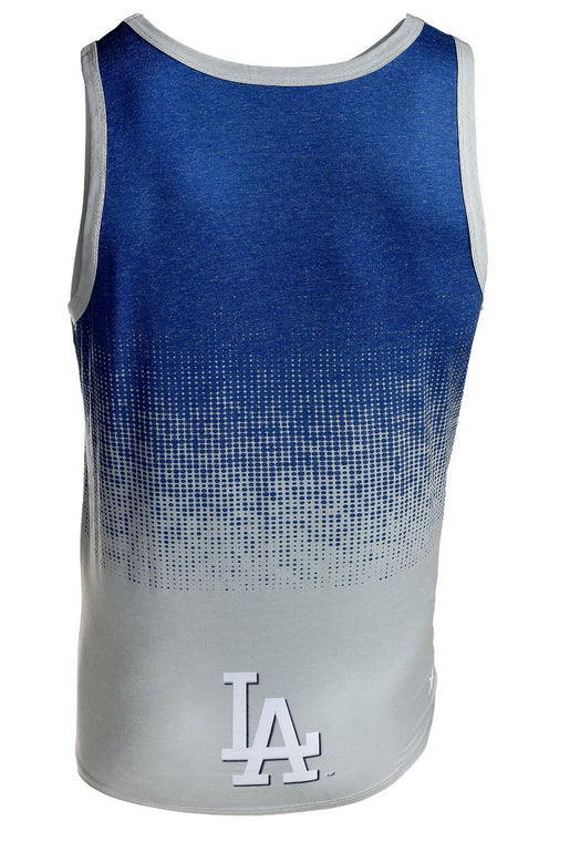 MLB Men's Los Angeles Dodgers Big Logo Tank Top Shirt, Blue