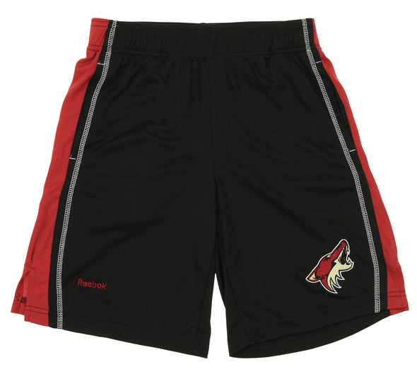 Reebok NHL Youth Arizona Coyotes Rookie Shorts, Black