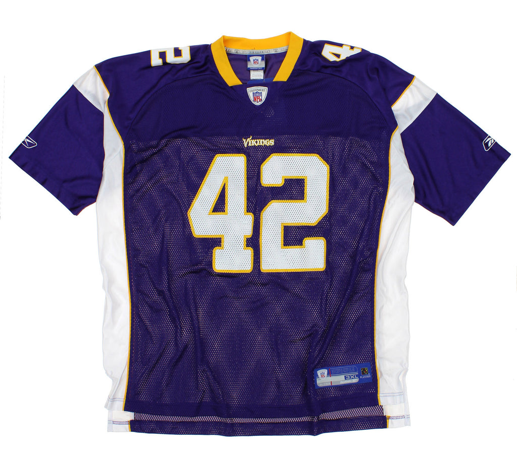 NFL Men s Minnesota Vikings Darren Sharper  42 Replica Jersey ... 8799d475f