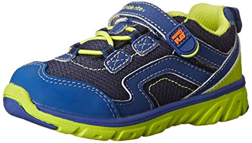 Stride Rite Toddlers Made 2 Play Baby Jake Sneaker, Navy/Green