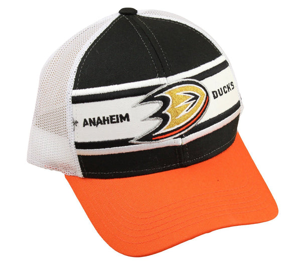 Reebok NHL Men's Anaheim Ducks Trucker Snapback Hat