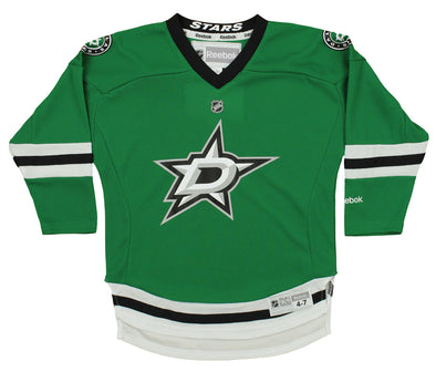 Reebok NHL Kids Dallas Stars Team Color Replica Jersey, Green