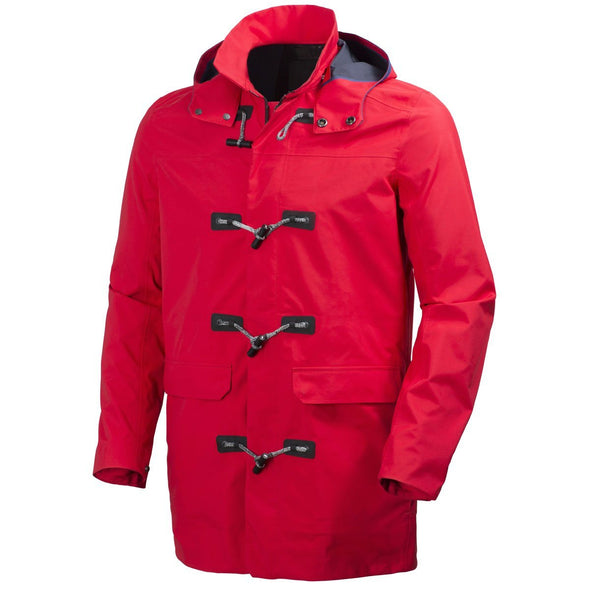 Helly Hansen Men's 2016 Ask Canvas Duffel Coat, Flag Red