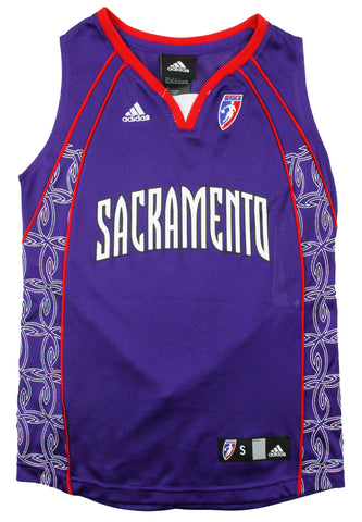 Adidas WNBA Youth Girls Sacramento Monarchs Replica Jersey e8eef2036