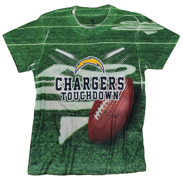 San Diego Chargers TOUCHDOWN NFL Youth T-Shirt Shirt, Green