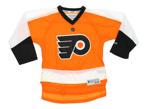 9dadf0e5f Reebok NHL Youth Philadelphia Flyers Team Color Replica Jersey