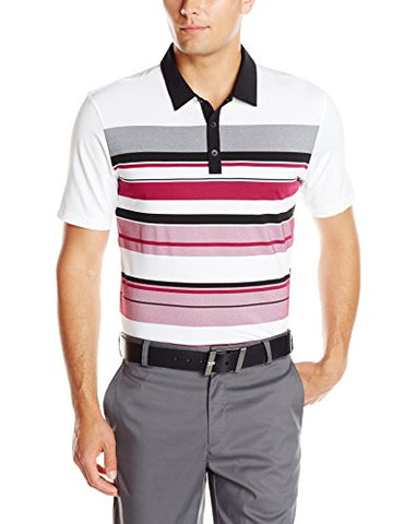 2e506b29c Adidas Golf Men s Climacool Graphic Chest Stripe Polo Shirt - Many Colors