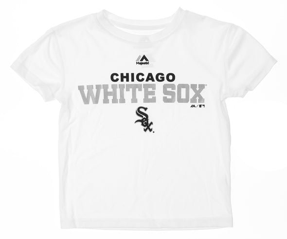Outerstuff MLB Kids Chicago White Sox Roll Call Performance Tee Shirt, White