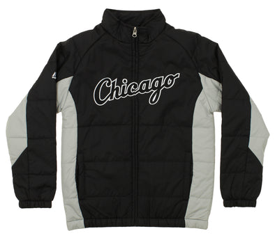 Majestic MLB Youth Chicago White Sox Double Climate Full Zip Jacket