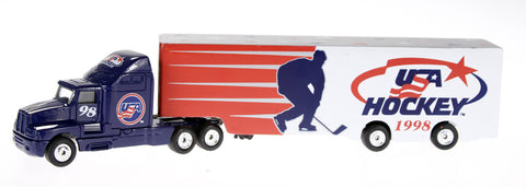 1998 Nagano Olympics Limited Edition USA Hockey 1:80 Diecast Transporter Truck