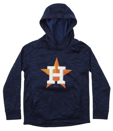 Gen 2 MLB Youth Houston Astros Performance Fleece Primary Logo Hoodie