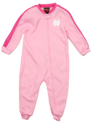 Genuine Stuff NCAA Toddler Girls Notre Dame Fighting Irish Fleece Pajamas, Pink