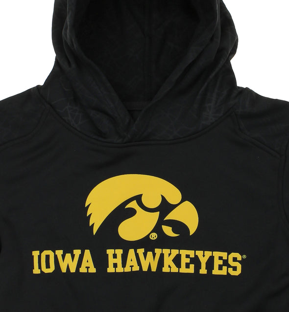 NCAA Youth Iowa Hawkeyes Performance Hoodie