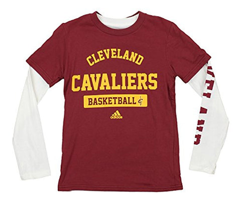 Adidas NBA Youth Cleveland Cavaliers 3 in 1 Tee Combo Pack