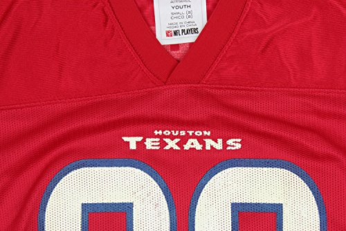 NFL Football Youth Boys Houston Texans Andre Johnson # 80 Player Jersey - Red