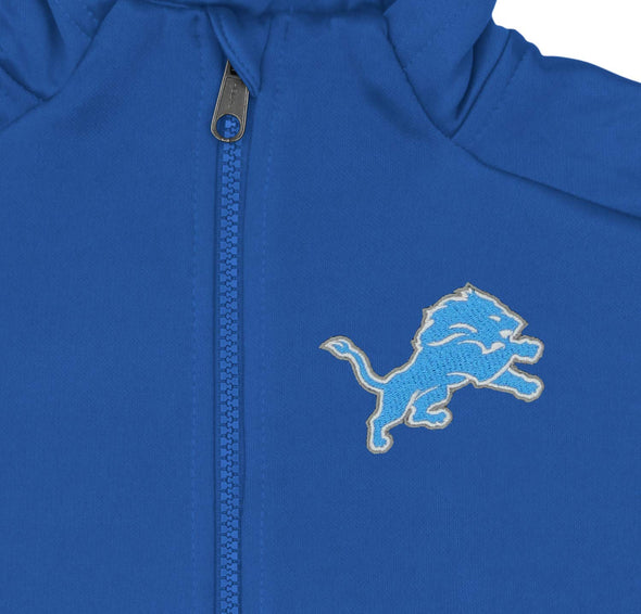 Outerstuff NFL Youth/Kids Detriot Lions Performance Full Zip Hoodie