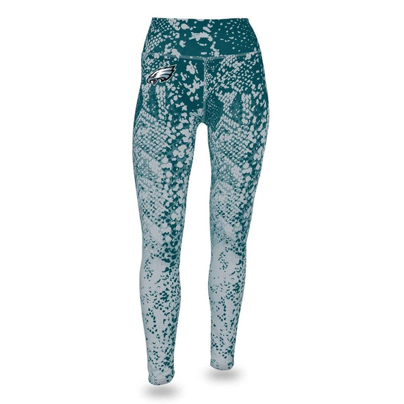 Zubaz NFL Women's Philadelphia Eagles Logo Leggings
