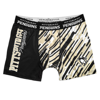 FOCO KLEW NHL Men's Pittsburgh Penguins Wordmark Underwear