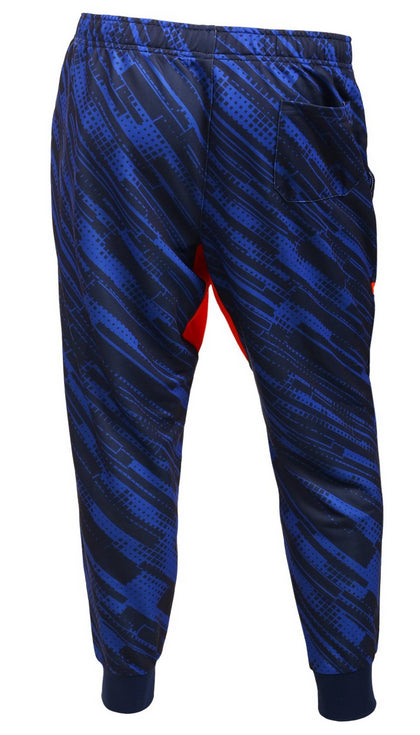 MLB Men's Detroit Tigers Cuffed Jogger Pants, Blue