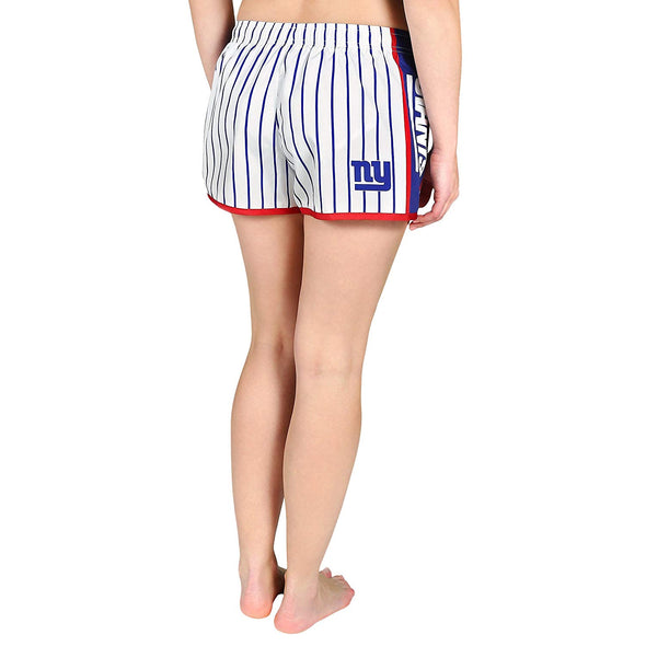 Forever Collectibles NFL Women's New York Giants Pinstripe Shorts