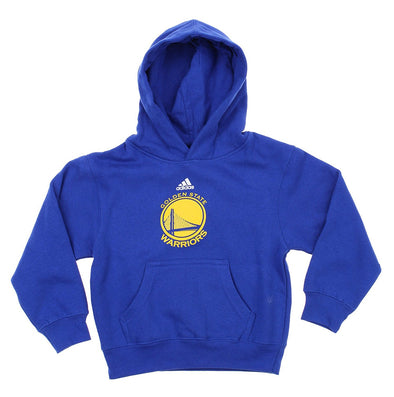 Adidas NBA Kids Golden State Warriors Team Logo Pullover Hoodie