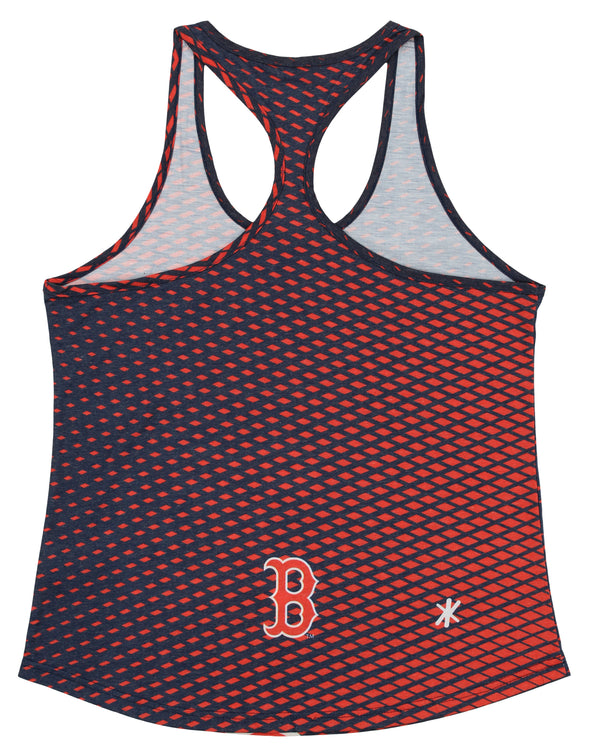 Forever Collectibles MLB Women's Boston Red Sox Diamond Racerback Tank