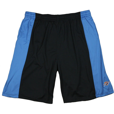 Zipway NBA Men's Big and Tall Oklahoma City Thunder Microfiber Shorts, Black