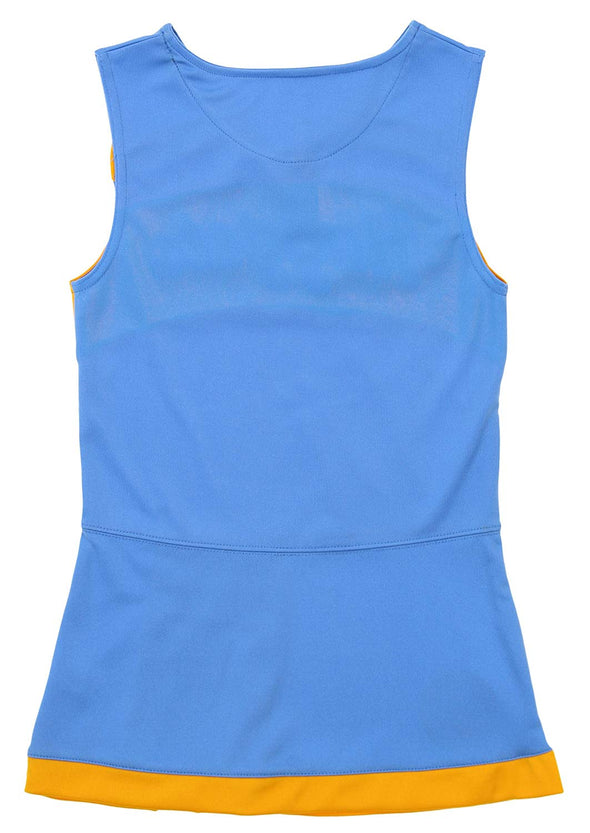 Adidas NBA Youth Girls Denver Nuggets Cheer Jumper Dress, Blue