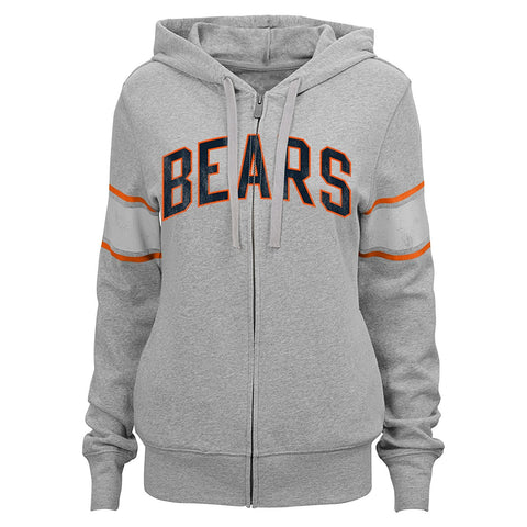 "NFL Junior Girls Chicago Bears ""Boyfriend"" Full Zip Hoodie"