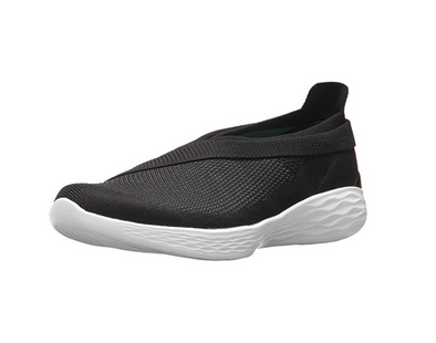 YOU by Skechers Women's Luxe Slip-On Shoes, Black