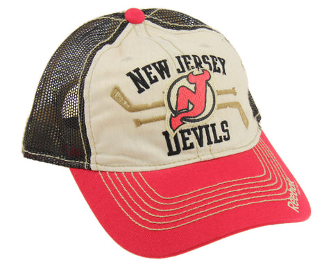 Reebok NHL New Jersey Devils Retro Trucker Hat